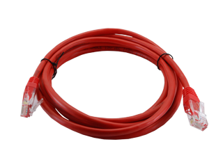 Red UTP cable - Large