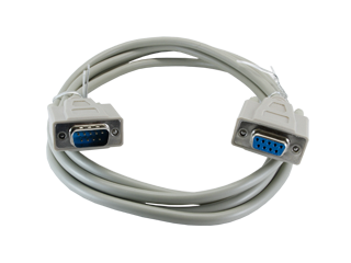 RS232 cable - male to female DB9